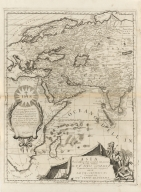 Asia : diuisa nelle sue parti secondo lo stato presente.Part 1