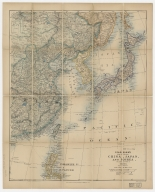 Stanford's map of eastern China, Japan and Korea : the seat of war in 1894