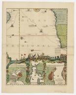 Carte de la Mer du Sud et de la Mer du Nord : ou se trouve les costes d'Amerique, d'Asie, d'Europe et d'Afrique situées sur ces mers. Part 10