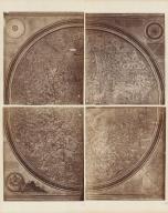 Fac-simile del mappamondo di Fra Mauro dell' anno 1457
