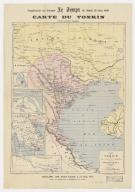 Carte du Tonkin