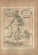 Carte des Isles Philippines Celebes et Moluques