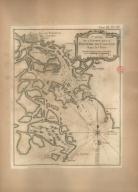 Carte de l'entrée de la riviere de Canton dans la Chine