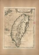 Carte de l'Isle Formose aux costes de la Chine
