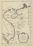 Carte des costes de Cochinchine Tunquin et partie de celles de la Chine.