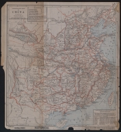 Missionary map of China