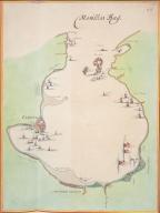 Landkarte der Bucht von Manila