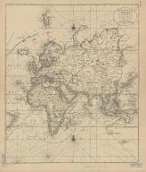 Carte generale de toutes les costes du Monde : et les pays nouvellement decouvert.Part 2