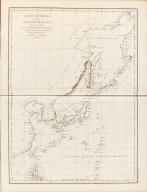 Carte Générale Des Découvertes faites en 1787 dans les Mers De Chine et De Tartarie ou depuis Manille jusqu'à Avatscha : par les Frégates Françaises la Boussole et l'Astrolabe
