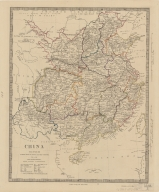 China : the interior chiefly from Du Halde and the Jesuits 1710 to 1718 and the sea coast from modern authorities