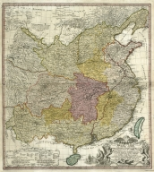 Map of China, and a description of the work of missionaries in China