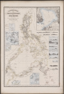 Reduced map of the Philippines and Susu Islands.