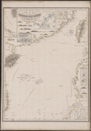 Reduced map of the Chinese Sea : 2nd sheet, containing the northern part