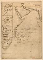 [[Carte portugaise de la mer des Indes entre le Cap de Bonne Espérance et le Cap Comorin] ; [Carte portugaise de la mer qui comprend le Golfe du bengale, les côtes de la Chine et les îles du Japon, Philippines, de la Sonde et Moluques], [Carte portugaise de la mer des Indes entre le Cap de Bonne Espérance et le Cap Comorin]]