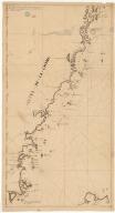 Carte de coste de la Chine et d'une partie de l'isle Formose compris entre les 25 d. et 30 d. 30 m. de latitude nord