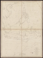 To the Society of Managing Owners of the Ships in the English East India Company's Service, This Chart of the China Sea, Including the Philippina Molluca and Banda Islands, Shewing al the same time all the Tracks into the Pacific Ocean, commonly known by the name of the Eastern Passage to China