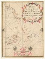 Plan de la riviere de Canton, Macao, et autres isles circonvoisines