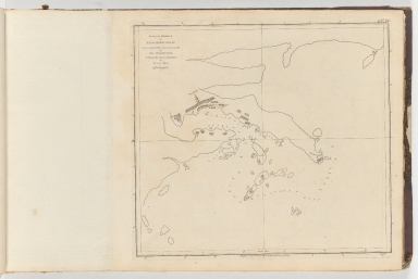 Plan of the harbour of Nangasaky in Japan : from an ancient MS communicated in 1762