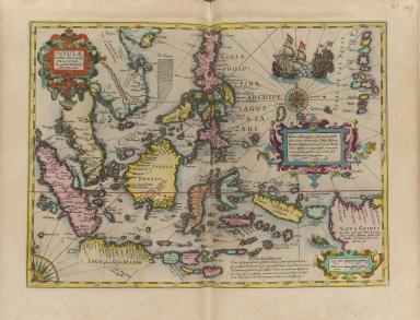 Insulae Indiae Orientalis Praecipuae, in quibus Moluccae celeberrimae sunt.