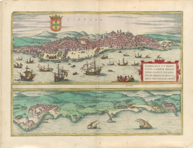 Lisbona ; Cascale Lusitaniæ opp.