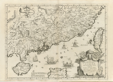 Quantung, e Fokien : provincie della China