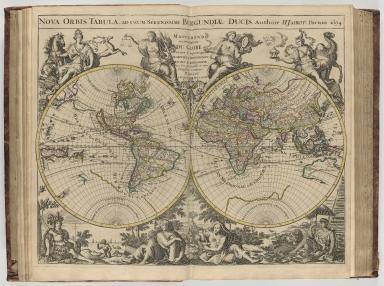 Nova orbis tabula, ad usum serenissimi Burgundiae Ducis