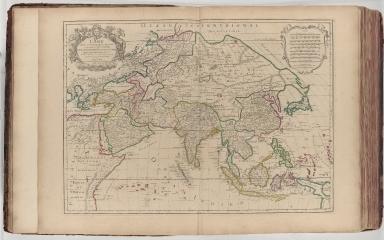L'Asie divisée en ses principales regions et ou se peuvent voir l'estendüe des empires, monarchies, royaumes, et estats qui partagent presentement l'Asie