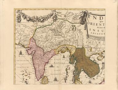 India quae orientalis dicitur, et insulae adiacentes.Part 1