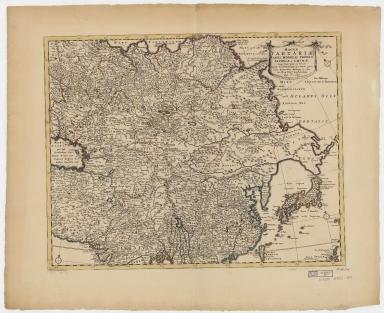 Magnae Tartariae, magni Mogolis Imperii Japoniae et Chinae : nova descriptio ex tabula