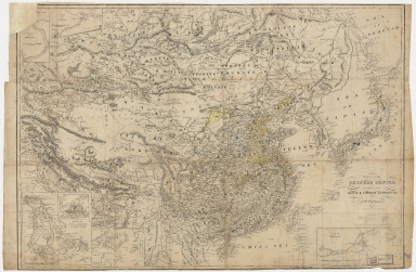 Map of the Chinese Empire : compiled from native & foreign authorities
