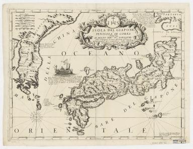 Isola del Giappone e penisola di Corea
