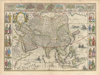 Asia noviter delineata