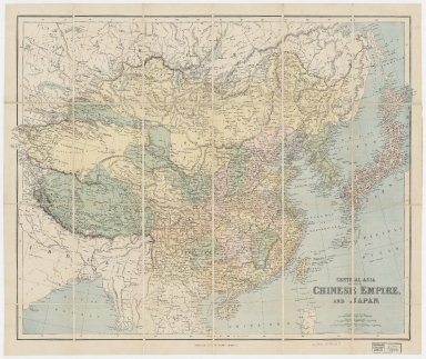 Central Asia with the Chinese Empire, and Japan