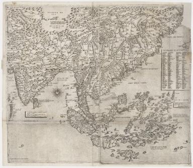 Il disegno della terza parte dell' Asia