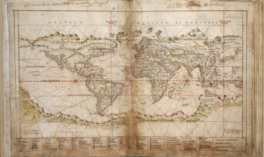 Albernaz coast map of world