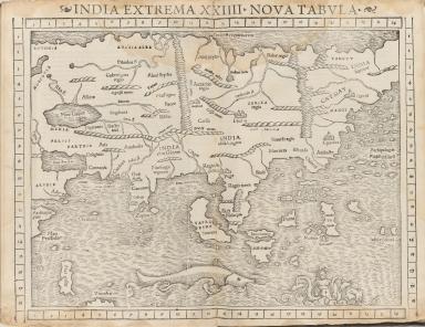 India Extrema XXIIII : nova tabula