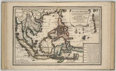Les Isles Philippines et celles des Larrons ou de Marianes, les Isles Moluques et de la Sonde, avec, la presqu'isle de l'Inde de là le Gange ou Orientale