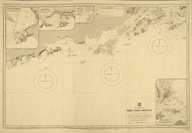 China-South Coast : Tien Pak to Macao : from various sketch surveys 1807-1882
