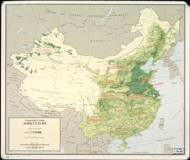 Communist China agriculture