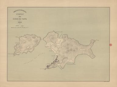 Esboço das Ilhas da Taipa