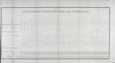 Curvas mareometricas e mareographicas referidas ao mez de Dezembro de 1883. N.º 2