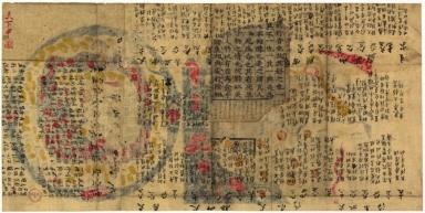 天下圖 = Cheonhado = Map of all under heaven. Part 2