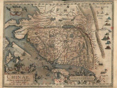 A new representation of China, once called the region of the Chinese, by Ludovicus Georgius.