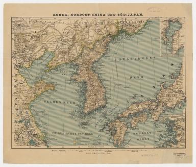 Korea, Northeast China, and South Japan