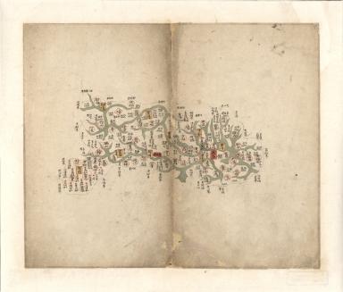 湖北省輿圖 = Map of Hubei Province