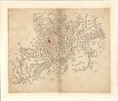四川省輿圖 = Map of Sichuan Province