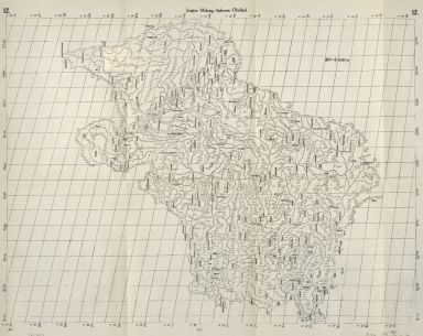 金沙瀾滄等江源圖 = Jangtze-Mekong-Salween-Oberlauf