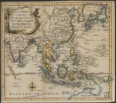 East Indies : drawn from the latest discoveries