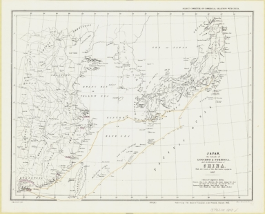Japan, the islands of Loochoo & Formosa, and the maritime provinces of China with the tract of the Morrison's voyage in 1837