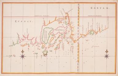 Map of the Chinese coast from Cabo Mandar to Nassauwen Baij